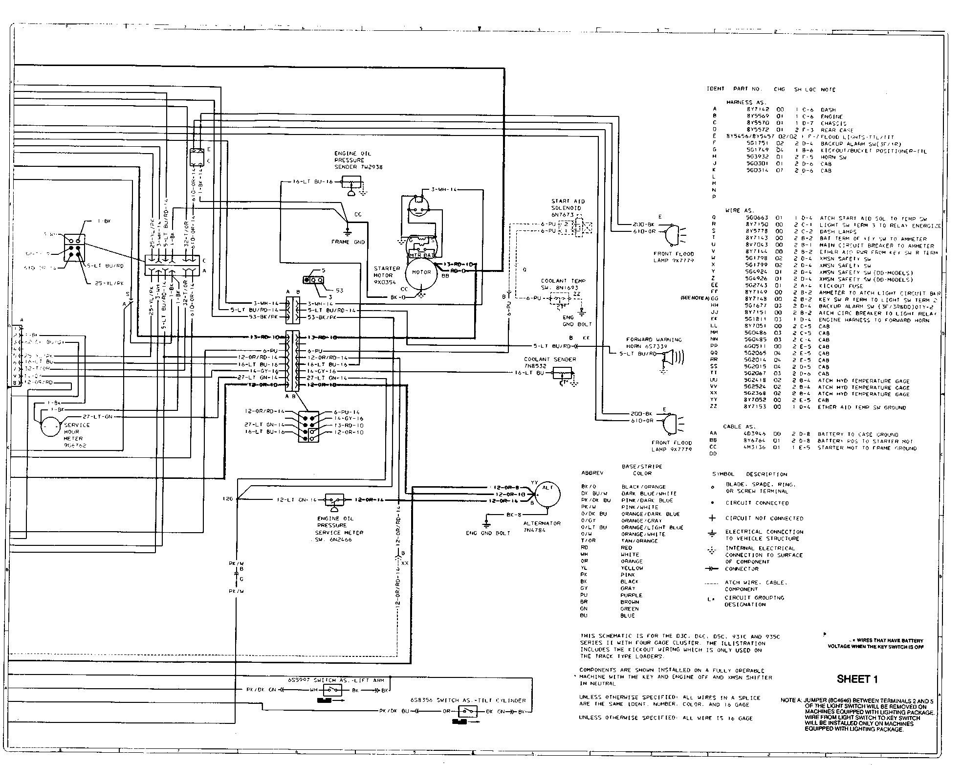 Cat D5 Wiring Diagram