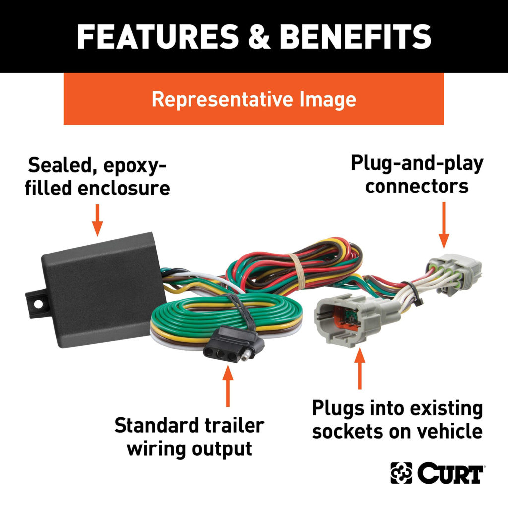 Curt 7 Pin Trailer Wiring Schematic And Wiring Diagram