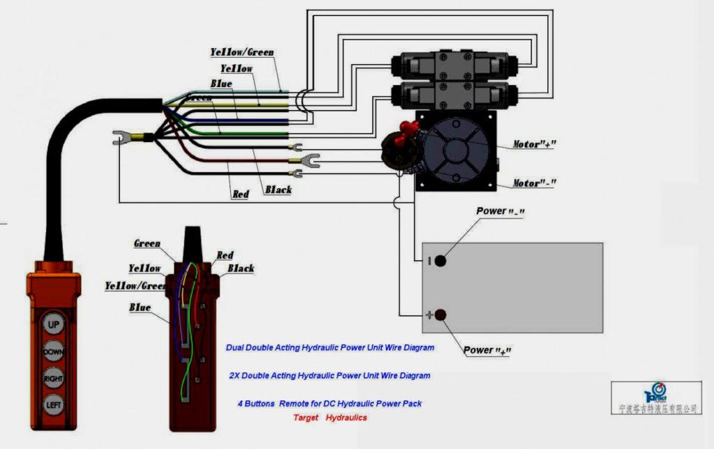 Dump Trailer Hydraulic Pump Wiring Diagram Trailer