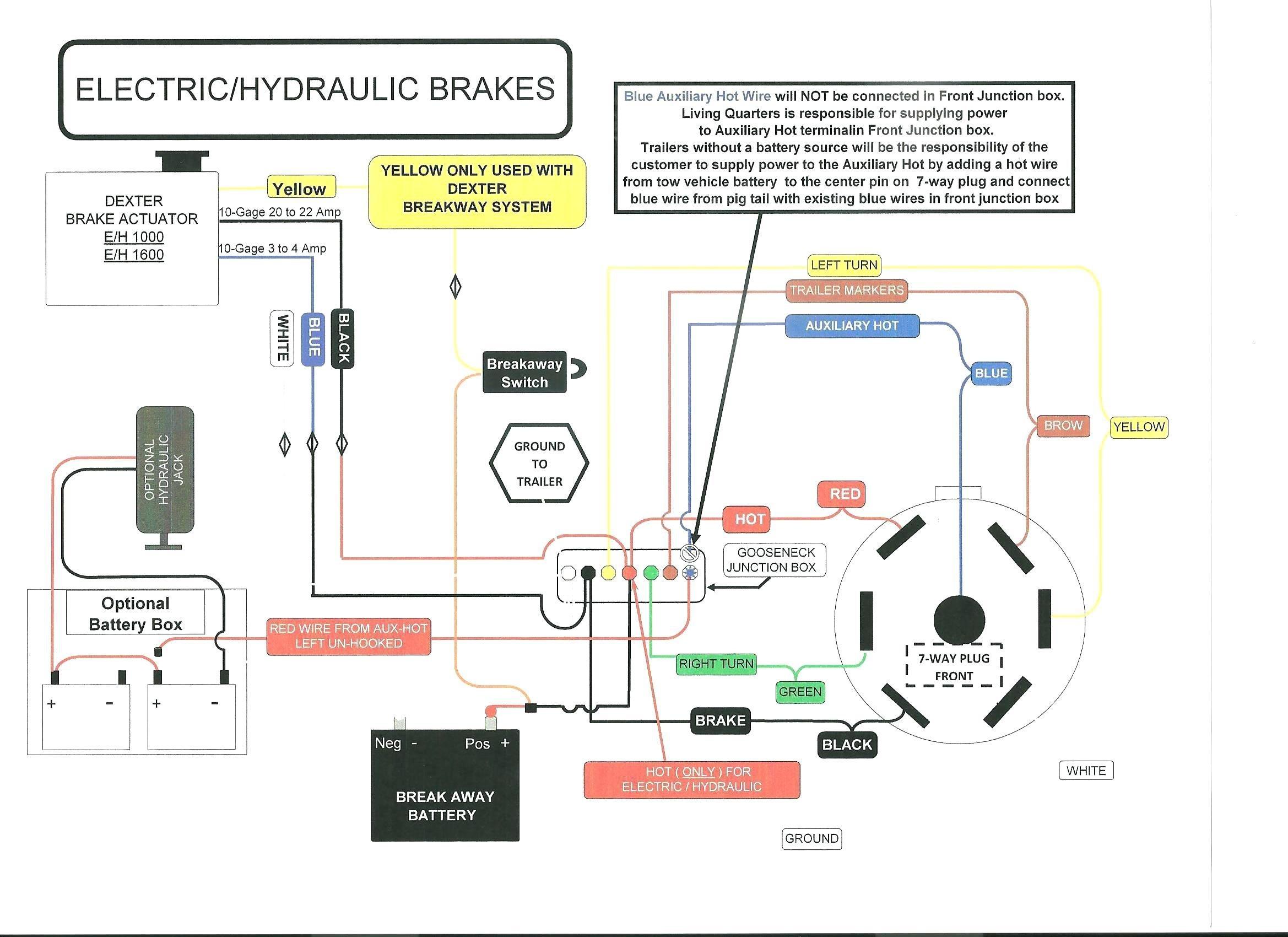Trailer Emergency Brake Wiring Diagram