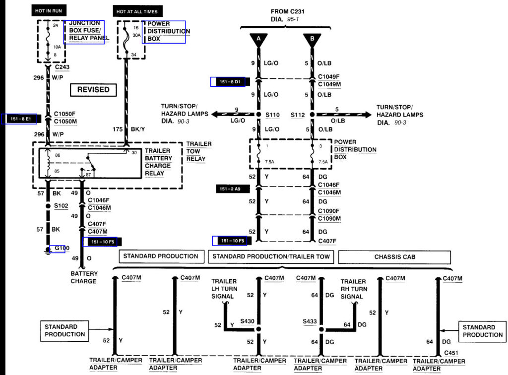 Ford Expedition Trailer Wiring Diagram Trailer Wiring