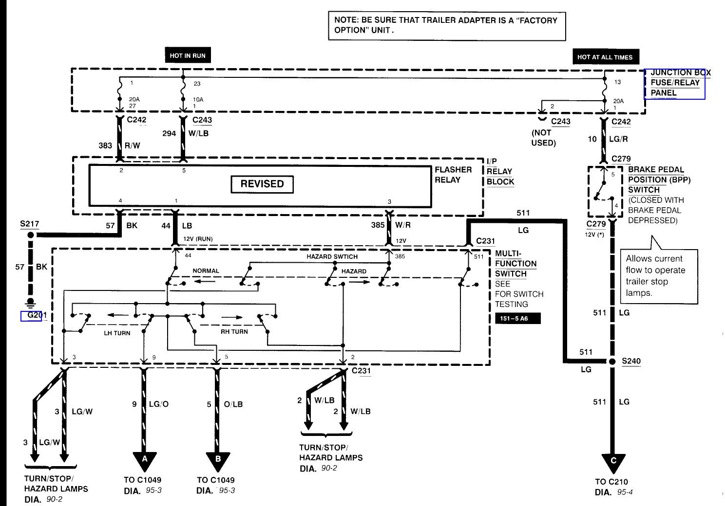 1999 Ford F250 Trailer Wiring Diagram