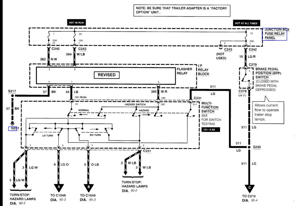 99 Ford F250 Trailer Wiring Diagram, 1999 Ford Super Duty Wiring Diagram
