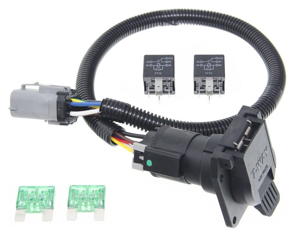 Ford Trailer Plug Wiring Diagram Trailer Wiring Diagram