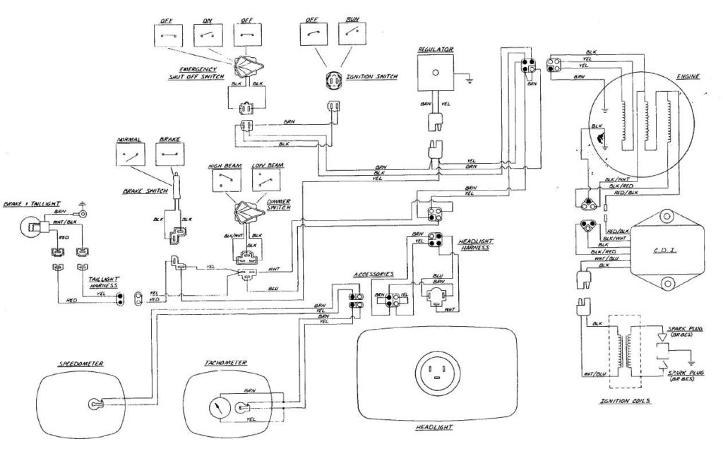 Fuel Line Routing Diagram Mikuni Fuel Pump 81 Arctic Cat