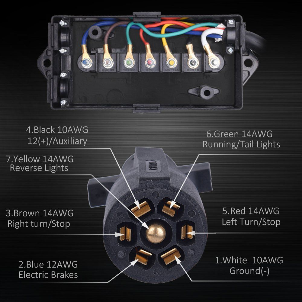 How To Wire 7 Way Trailer Wiring Diagram