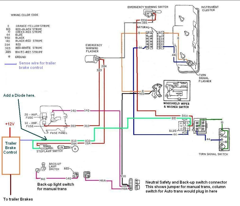2002 F250 Trailer Brake Controller Wiring Diagram