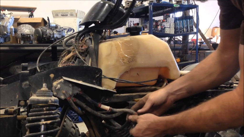 How To Clean The Carburetor On A Polaris Magnum 325 YouTube