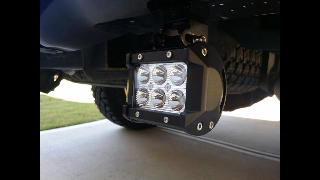 HOW TO INSTALL REAR F150 CREE LED REVERSE LIGHT BARS
