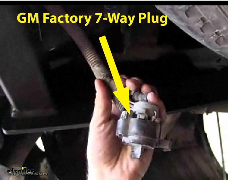 Installing 4 Pole Trailer Connector On 2002 Chevy