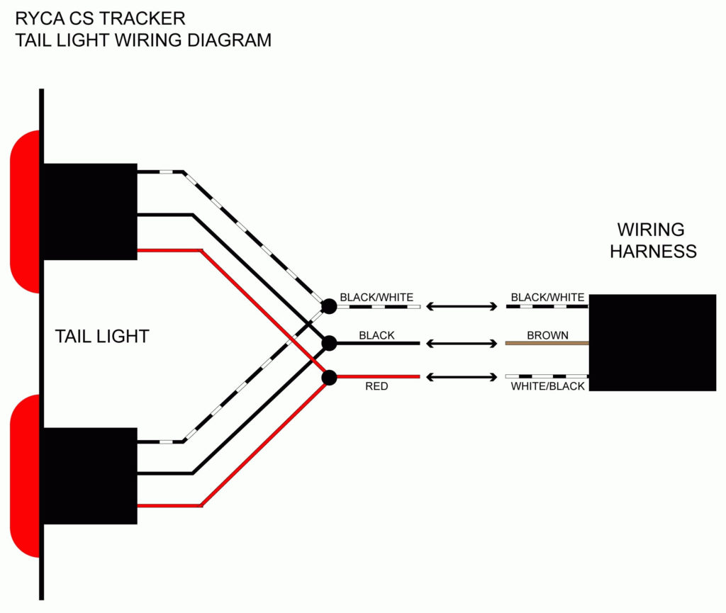 Led Trailer Light Wiring Diagram Trailer Wiring Diagram