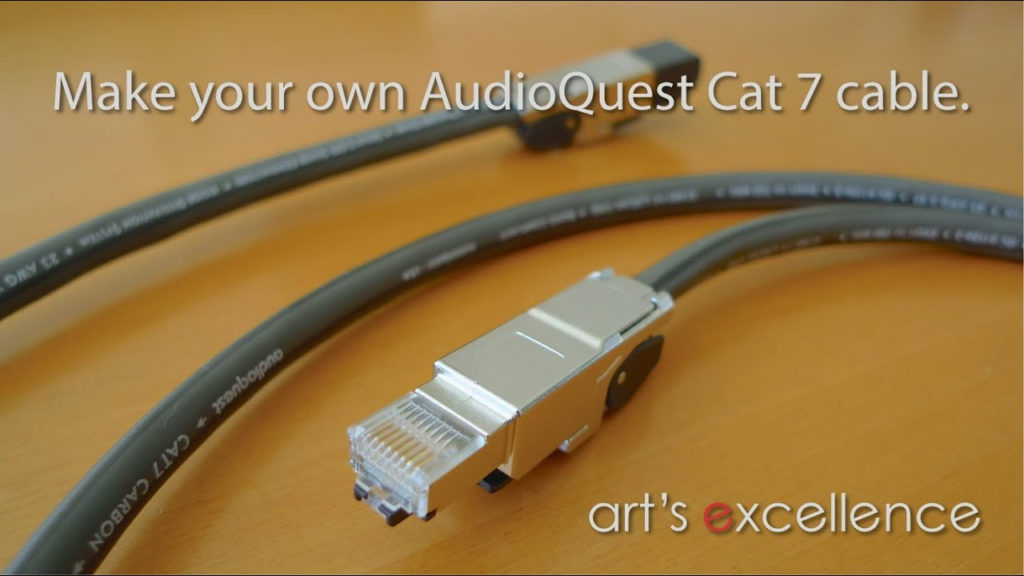 Make Your Own AudioQuest Cat 7 Cable With Teleg Rtner