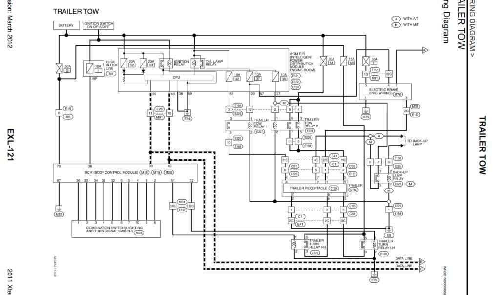 Nissan Frontier Trailer Wiring Diagram Wiring Schema