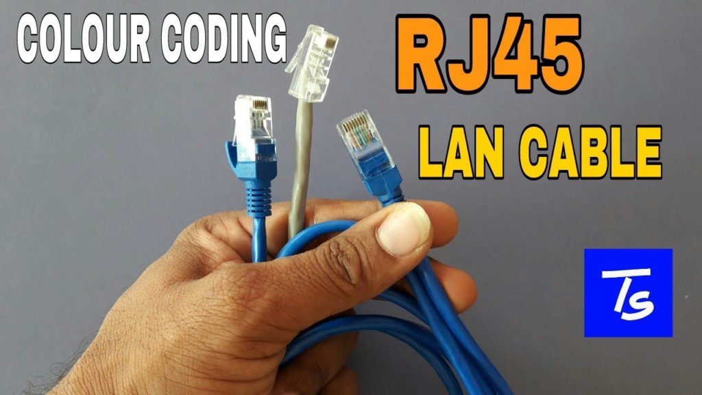 Rj45 Color Coding Connector Cable Patch Cord LAN Cable