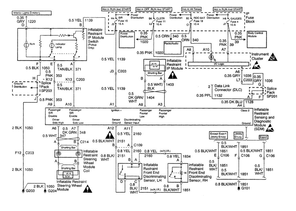 S10 Blazer Wiring Diagram