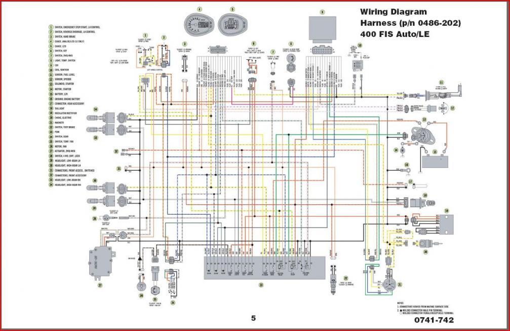 Arctic Cat Z120 Wiring Diagram