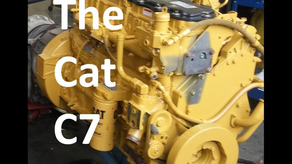 The Cat C7 Engine Facts Walk Around Sensor Locations
