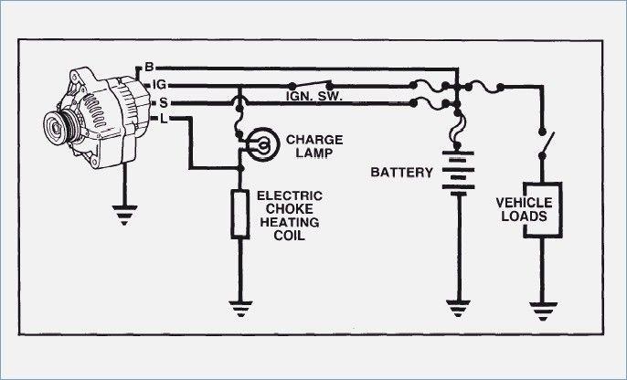 Toyota Corolla Alternator Wiring Diagram Alternator