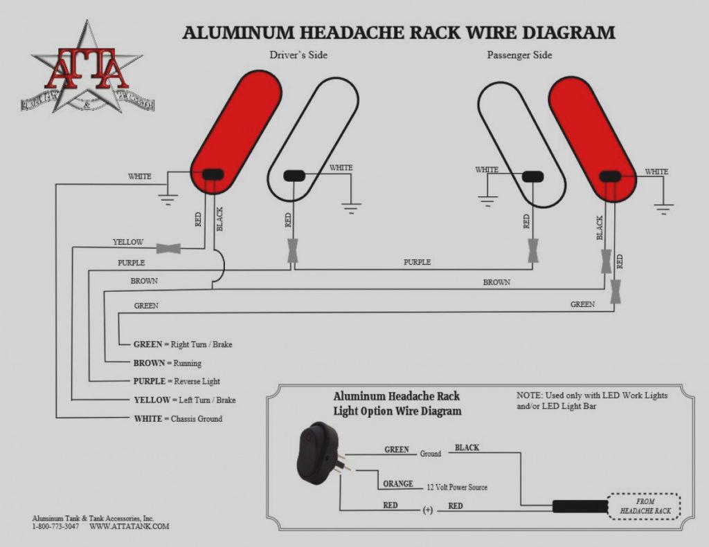 Trailer Rear Lights Wiring Diagram Trailer Wiring Diagram