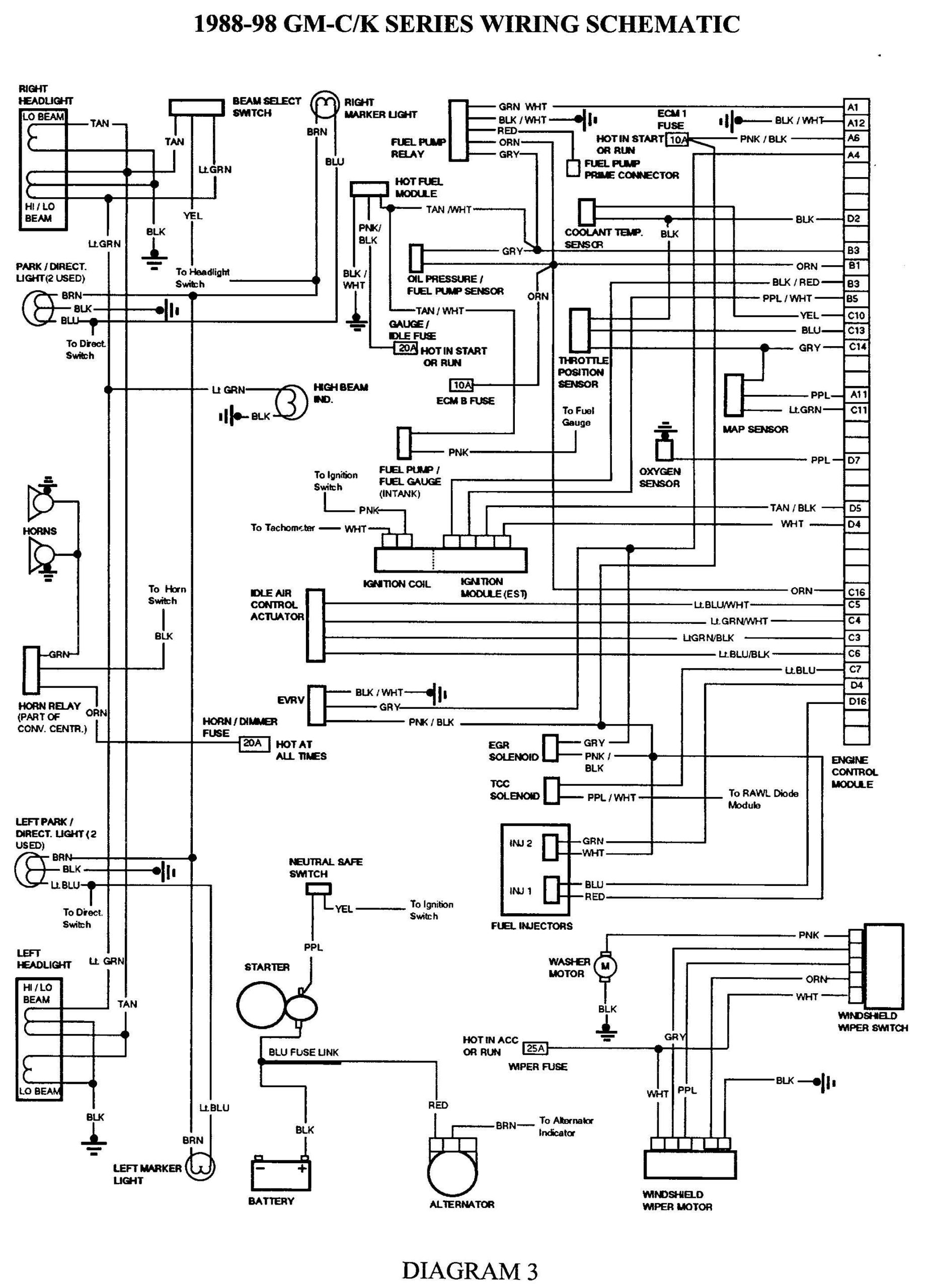 2005 Gmc Sierra Trailer Wiring Harness Diagram