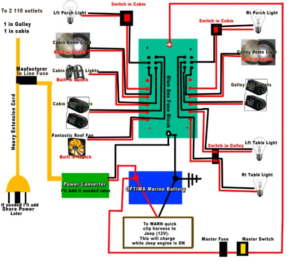 Typical Trailer Wiring