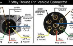 7 Pin Trailer Plug Wiring Diagram Truck Side