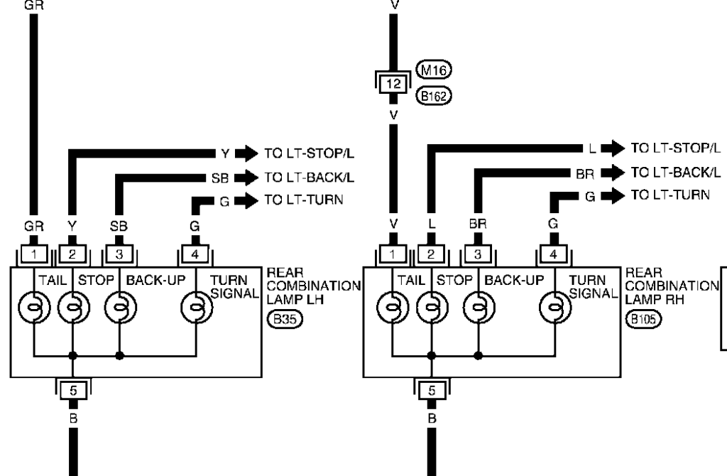 Wiring Diagram For Nissan X Trail I Need The Colour