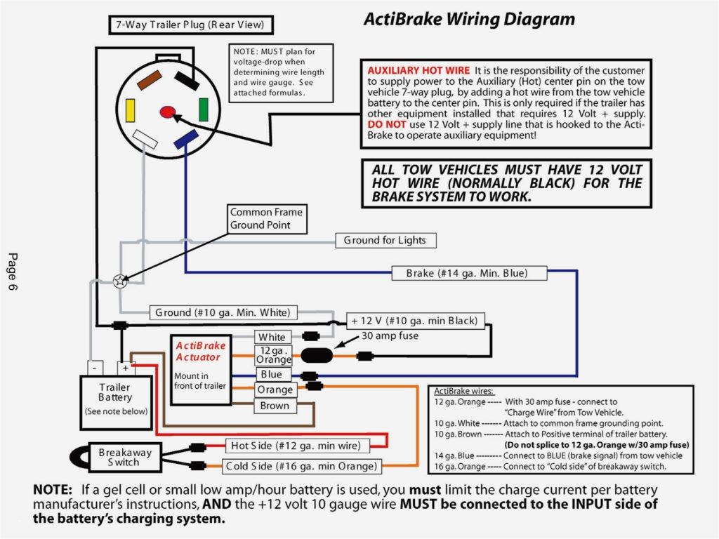 Wiring Electric Trailer Brakes Diagram Trailer Wiring