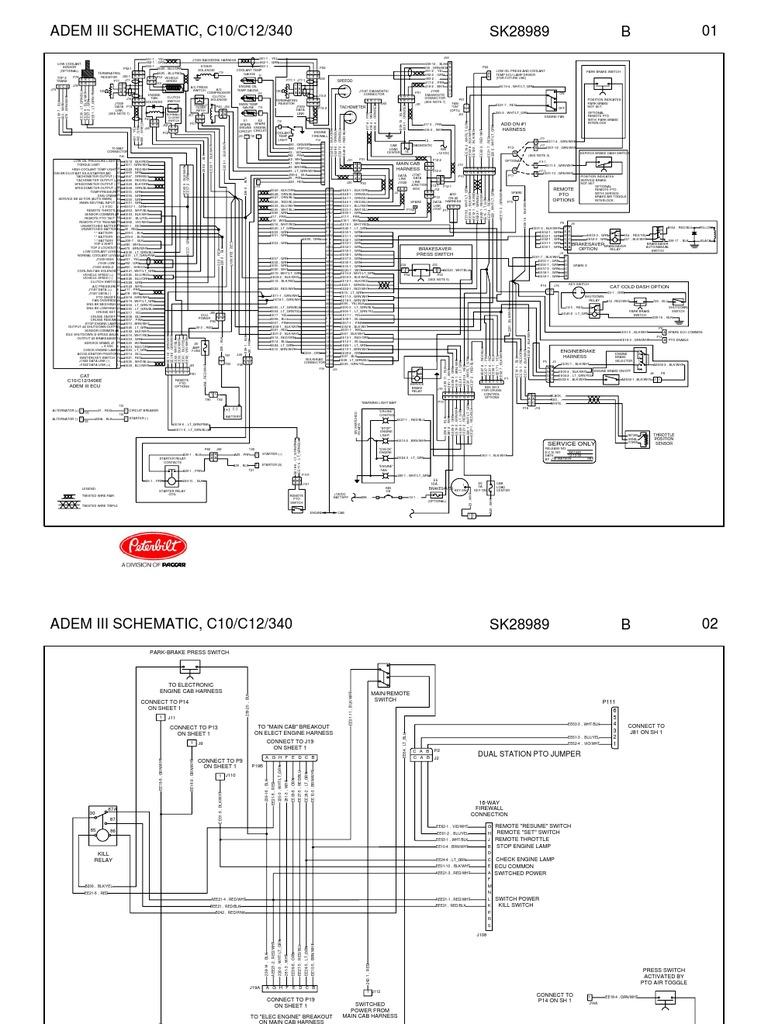 Cat Adem 4 Wiring Diagram